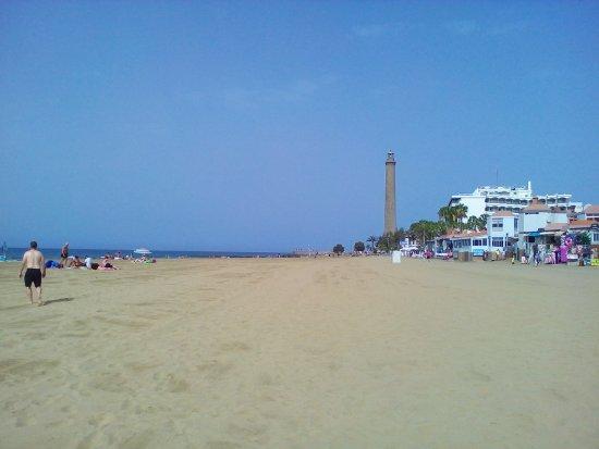 Paseo Costa Canaria in Maspalomas