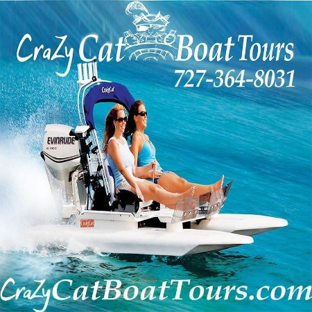 New Port Richey, Флорида: Crazy Cat Boat Tours
