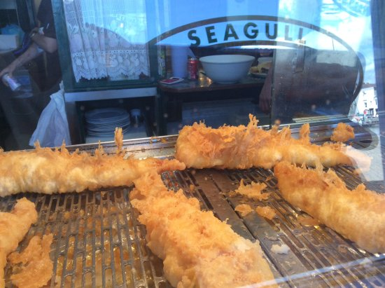 The Seagull : Seagull fresh fried fish.....delicious!