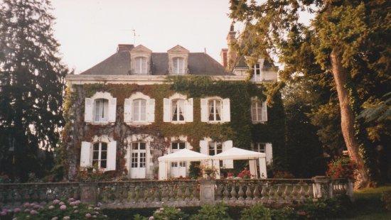La Croix d'Etain : Backyard View of the Beautiful La Croix D' Etian B&B