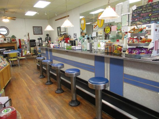 Hayesville, Carolina del Norte: the soda fountain