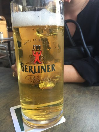 Bier stop after the gate