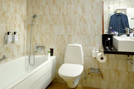 Lund, Sverige: Scandic Star Room Standard Bathroom
