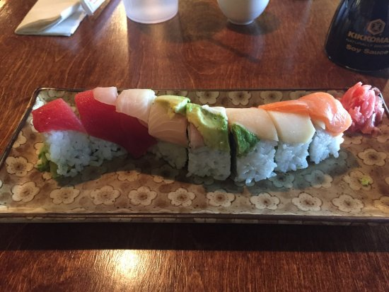 Euless, TX: Rainbow roll and Philly roll! Delicious! Highly recommended!