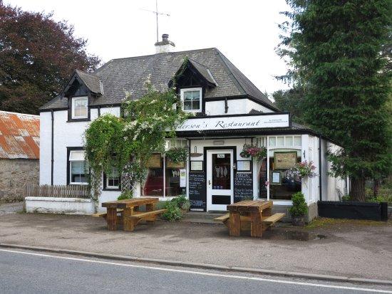 Boat of Garten, UK: Restaurant von außen