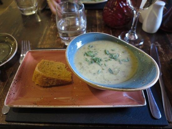 Boat of Garten, UK: Suppe des Tages