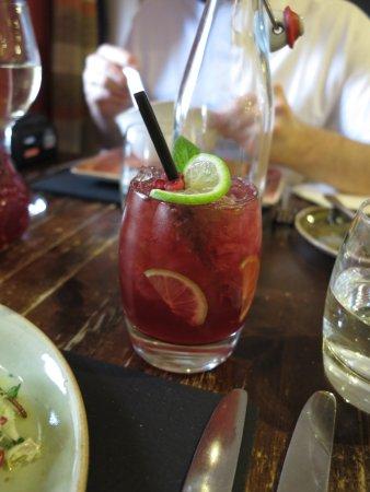 Boat of Garten, UK: Alkoholfreier Cocktail des Tages
