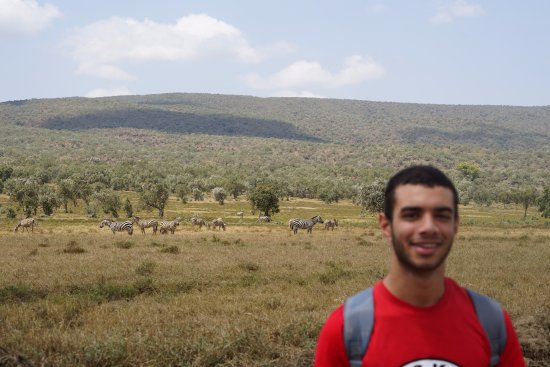 Hell's Gate National Park: The animals and the view could make a really nice photo