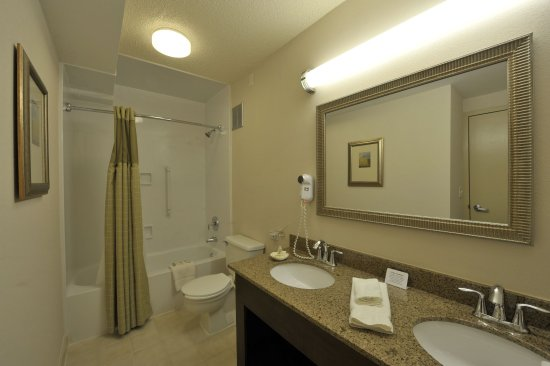 Holiday Inn Itasca (Woodfield Area): Suite Guest Bathroom - Holiday Inn Chicago West Itasca
