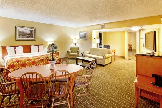 Holiday Inn Missoula Downtown: Suite at Holiday Inn Downtown Missoula