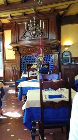 Quintin, França: Salle à manger