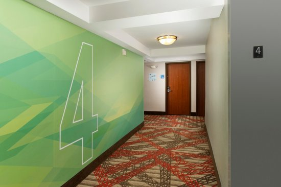 Holiday Inn Express Baltimore at the Stadiums: Formula Blue Hallway - Flour Four