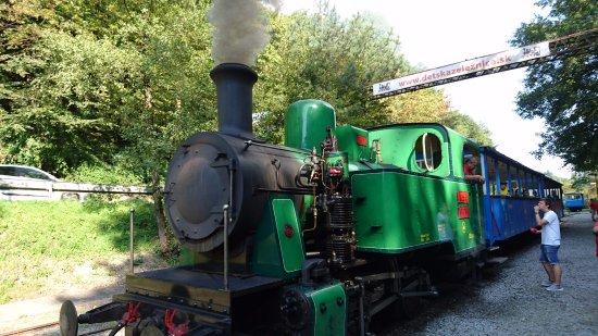 Děská železnica