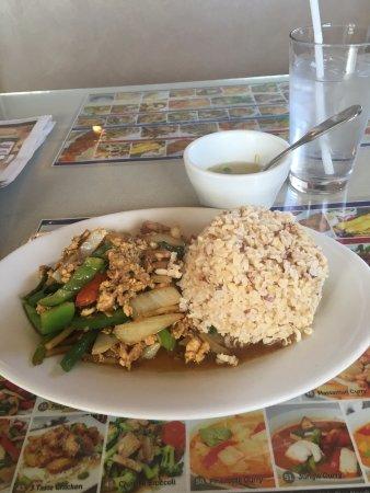 Lakewood, CO: Stir fry w/brown rice