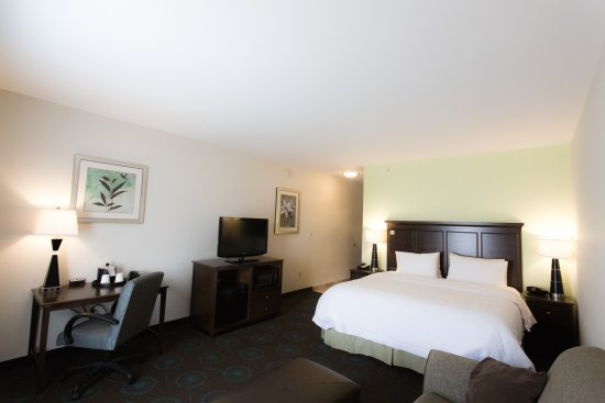 Hampton Inn & Suites Middlebury: King Room