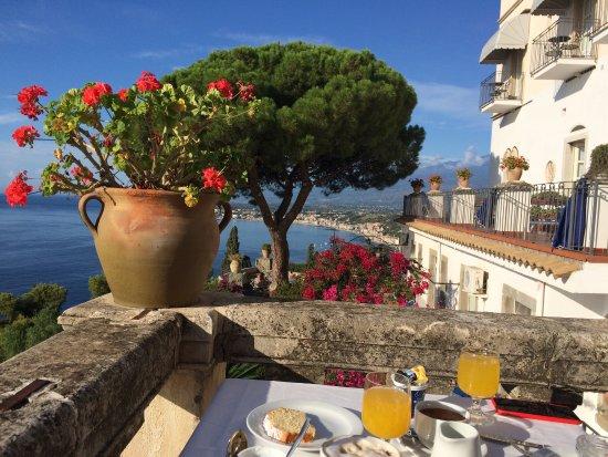 breakfast view - Foto di Hotel Bel Soggiorno, Taormina ...