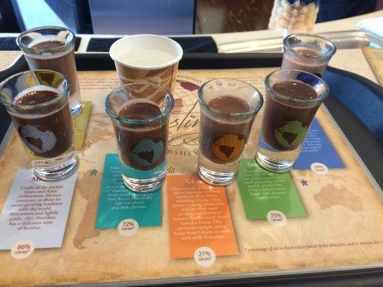 The Hershey Story: The chocolate shots