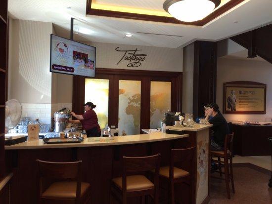 The Hershey Story: the tastings bar