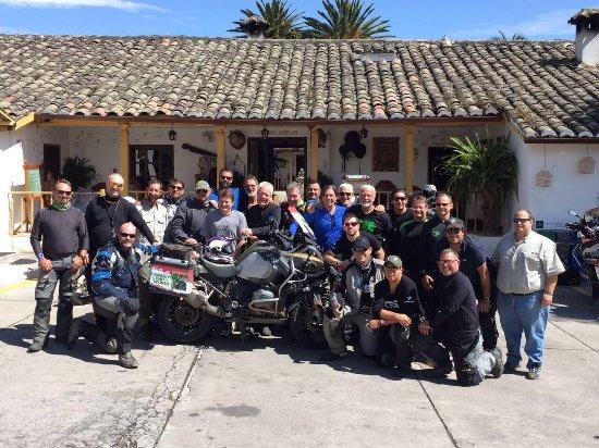 Hacienda- Hosteria Chorlavi: Hacienda Hosteria Chorlavi- oficial BMW Motorrad hotel .