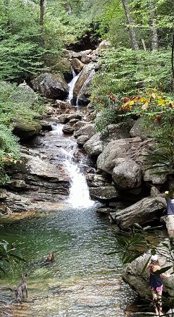 Canton, Carolina del Norte: Upper Waterfall