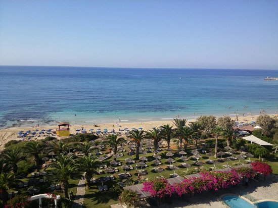 Alion Beach Hotel: Room's sea view and the beach right front!!