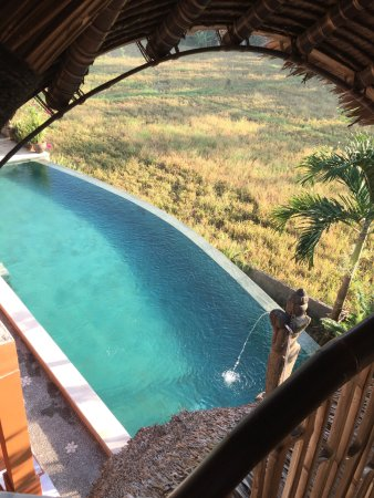 Bamboo Village Le Sabot Ubud: view top wagon