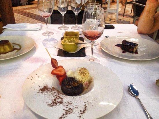 Restaurante Enrique: Toetjes