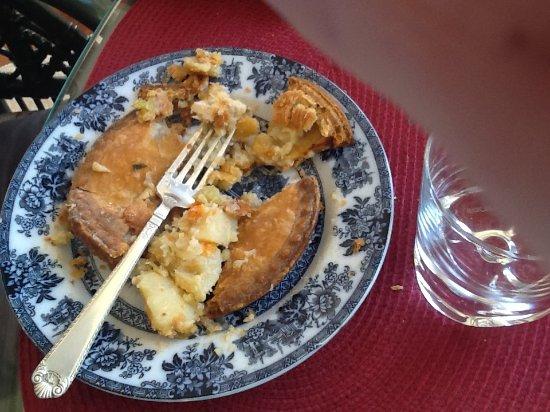 Parksville, Canada: Chicken Pot Pie or is it Potato Pot Pie? @ $6.99