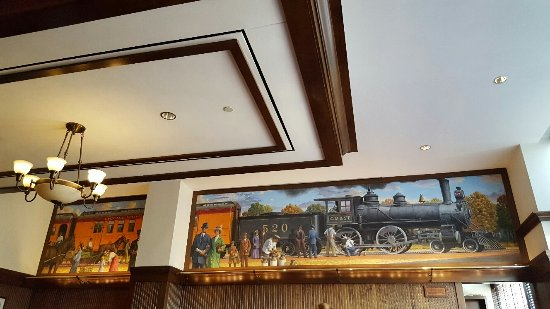 Perry, IA: A small part of the restaurant decor!