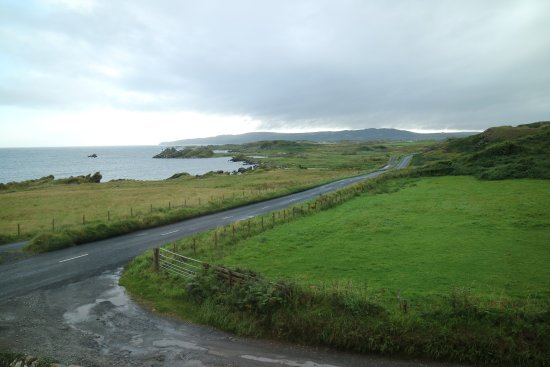 Laphroaig, UK: View from bedroom