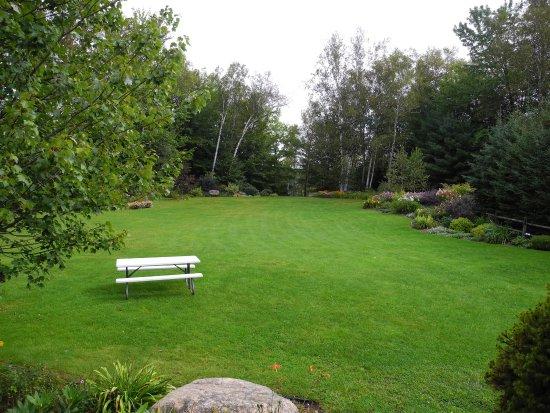 Wilton, Maine: Grounds & Perennial gardens