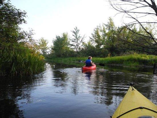 Wilton, Мэн: Kayaking Wilson Lake