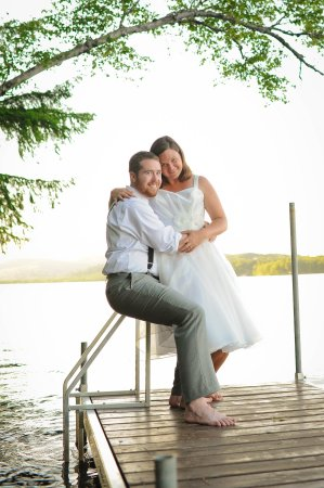 Wedding at Wilson Lake Inn - Wilton, Maine