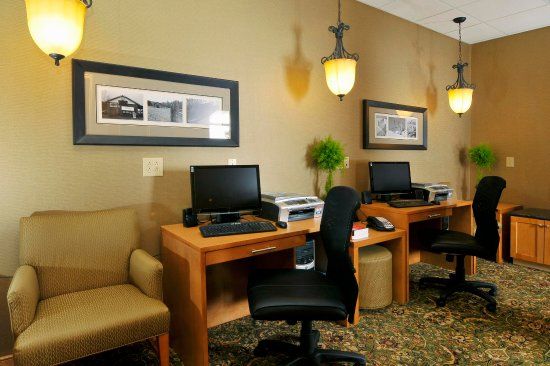Homewood Suites by Hilton - Greenville: Business Center