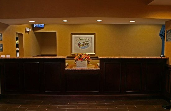 Davidson, Carolina del Norte: Front Desk