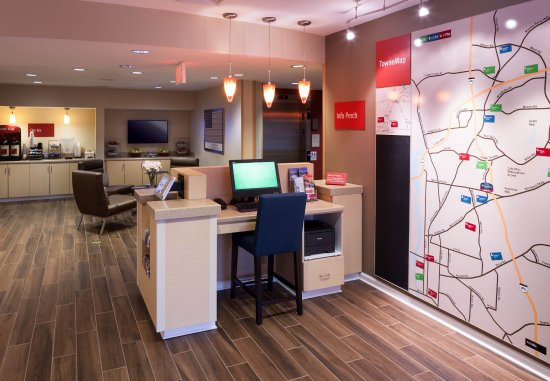 TownePlace Suites Columbus: TowneMap