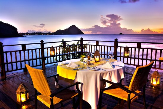 Cap Estate, St. Lucia: Private Dining Rock Maison