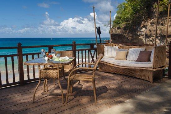 Cap Estate, Saint Lucia: Naked Fisherman Deck