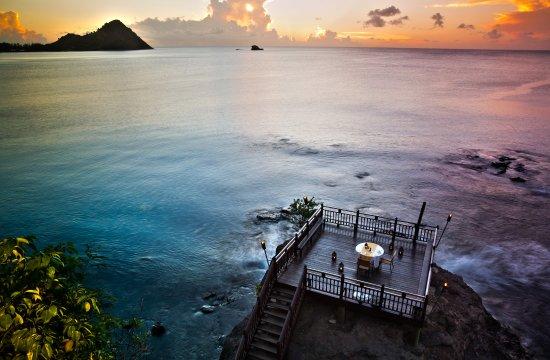 Cap Estate, Saint Lucia: Rock Maison At Sunset