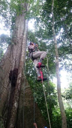 Turrialba, Costa Rica: Climbing Abraham