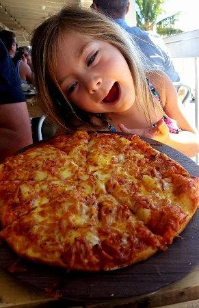 Kids pizza - OMG!