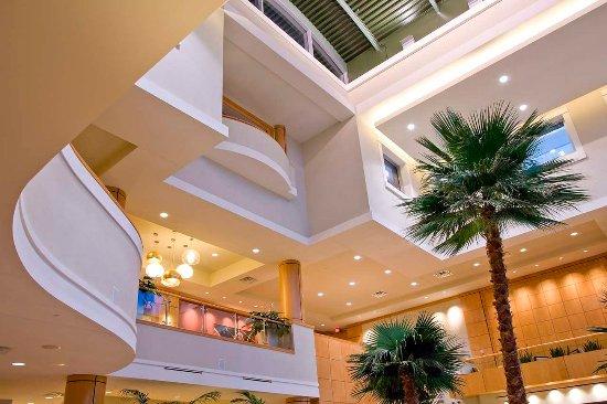 Embassy Suites by Hilton Houston - Energy Corridor: 3-Story Lobby Atrium
