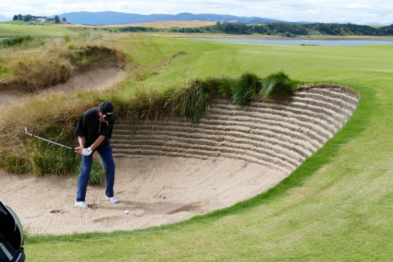 Castle Stuart Golf Links : Great bunkers