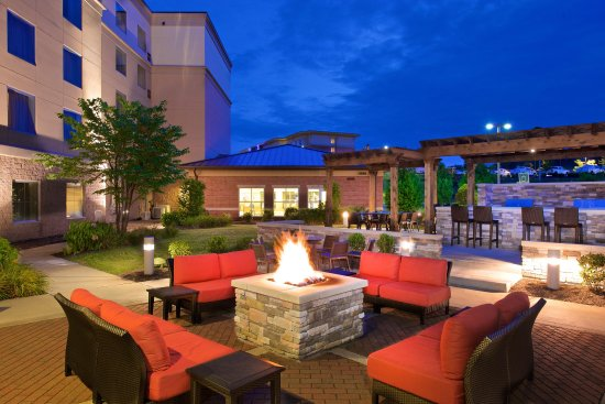 Canonsburg, PA: Fire Pit at Night