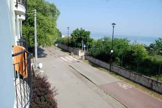 Lival Hotel: widok z okna