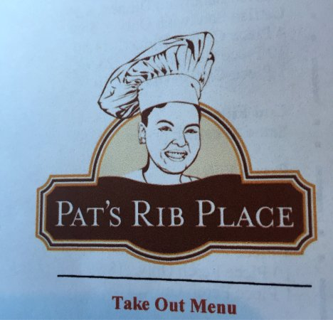 Good Eating at Pat's Rib Place!