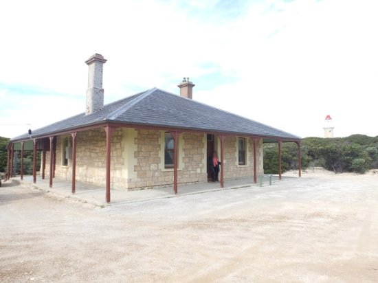 Flinders Chase, Australien: This is a picture of the lighthouse keeper's cottage.