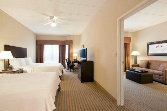 Homewood Suites Minneapolis - St Louis Park at West End: 2 Queen 1 Bedroom Suite