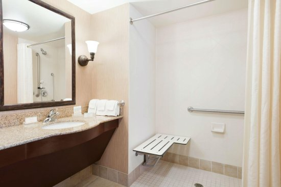 Homewood Suites Minneapolis - St Louis Park at West End: Accessible Bathroom - Roll In Shower