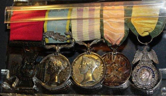 Low Parks Museum: Cameronians (Scottish Rifles) Museum Collection